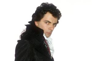 Blackadder. Mr. Edmund Blackadder, Esquire (Rowan Atkinson).