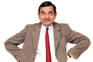 Mr. Bean. Mr. Bean (Rowan Atkinson).