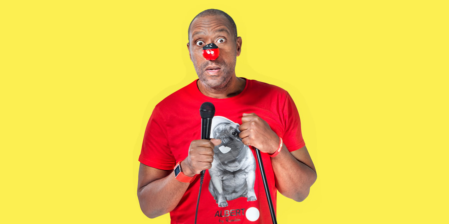 Lenny Henry. Copyright: Comic Relief.