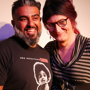 Image shows from L to R: Lovdev Barpaga, Laura Monmoth. Copyright: Dave Freak.