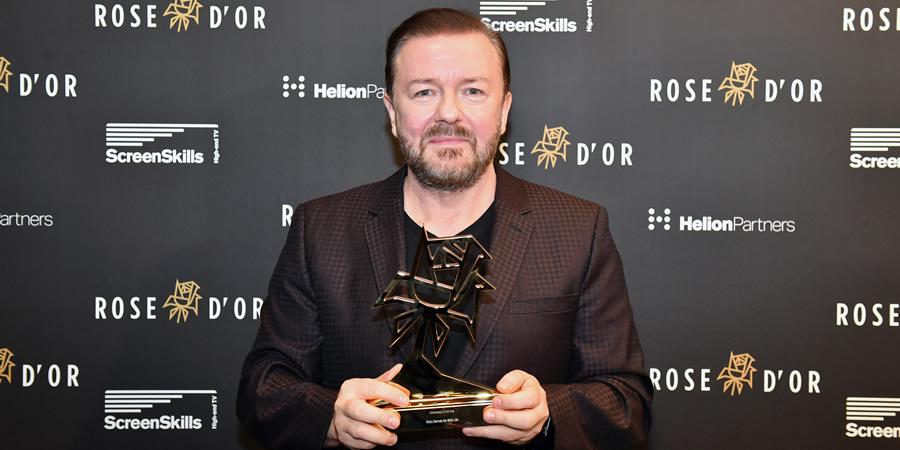 Ricky Gervais. Copyright: Simon Wilkinson.