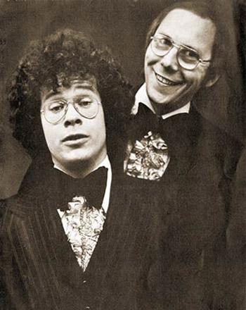 Mr Carline (R) & Mr Walling (L).