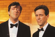 A Bit Of Fry & Laurie. Image shows from L to R: Stephen Fry, Hugh Laurie. Image credit: British Broadcasting Corporation.