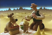A Grand Day Out With Wallace And Gromit. Copyright: Aardman Animations.