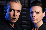 Image shows from L to R: John Hannah, Suranne Jones.