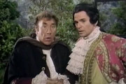 A Touch Of The Casanovas. Image shows from L to R: Fransisco (Frankie Howerd), Casanova (Stuart Damon). Copyright: Thames Television.