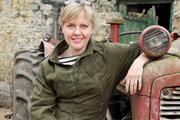 Accidental Farmer. Erin Taylor (Ashley Jensen). Copyright: BBC.