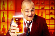 Al Murray working on a Pub Landlord film