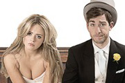 Almost Married. Image shows from L to R: Lydia (Emily Atack), Kyle (Philip McGinley). Copyright: Tested Films.