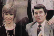 ...And Mother Makes Five. Image shows from L to R: Sally Redway (Wendy Craig), David Redway (Richard Coleman). Image credit: Thames Television.
