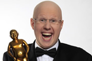 And The Winner Is.... Matt Lucas. Image credit: British Broadcasting Corporation.