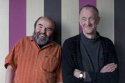 Image shows from L to R: Andy Hamilton, Guy Jenkin.