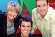 As Seen On TV. Image shows from L to R: Fern Britton, Steve Jones, Jason Manford. Copyright: Shine.