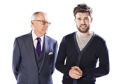 Backchat. Image shows from L to R: Michael Whitehall, Jack Whitehall. Copyright: Tiger Aspect Productions.