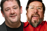 Image shows from L to R: Johnny Vegas, Ricky Tomlinson.