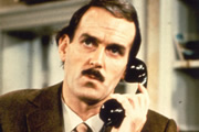 Fawlty Towers. Basil Fawlty (John Cleese).