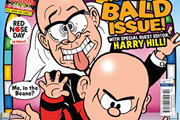 Harry Hill edits the Beano