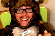 A Bear's Tail. Bear (Leigh Francis). Copyright: Bellyache Productions.