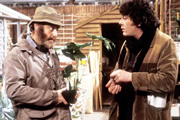 Bloomers. Image shows from L to R: Dingley (David Swift), Stan (Richard Beckinsale). Copyright: BBC.