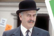 Blott On The Landscape. Sir Giles (George Cole). Copyright: BBC / Picture Partnership Productions.
