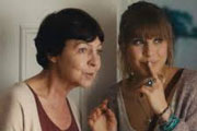 Bonobo. Image shows from L to R: Judith (Tessa Peake-Jones), Lily (Eleanor Wyld). Copyright: Fable Films.