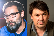 The Cloud. Image shows from L to R: Adam Buxton, Graham Linehan.