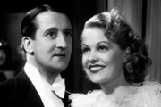 Cheer Up!. Image shows from L to R: Tom (Stanley Lupino), Sally Gray (Sally Gray). Copyright: Stanley Lupino Productions.