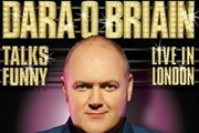 Dara O'Briain Talks Funny: Live In London. Dara O Briain. Copyright: Open Mike Productions.