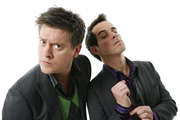 Dick And Dom's Funny Business. Image shows from L to R: Dick, Dom. Image credit: British Broadcasting Corporation.