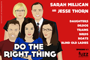 Series 4, Episode 1 (Sarah Millican & Jesse Thorn)
