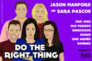 Series 4, Episode 2 (Jason Manford & Sara Pascoe)