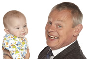 Doc Martin. Image shows from L to R: Unknown, Dr Martin Ellingham (Martin Clunes). Image credit: Buffalo Pictures.