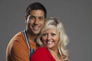 Edge Of Heaven. Image shows from L to R: Tandeep (Nitin Kundra), Judy (Camille Coduri). Copyright: Hartswood Films Ltd.