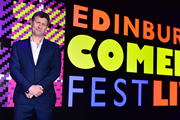 Edinburgh Comedy Fest Live. Adam Hills. Copyright: Open Mike Productions.