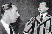 Educating Archie. Image shows from L to R: Brough (Peter Brough), Archie Andrews. Copyright: Associated-Rediffusion Television.