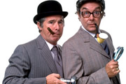 Eric And Ernie - Bring Me Christmas!. Image shows from L to R: Ernie Wise, Eric Morecambe.