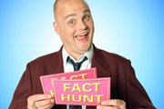 Fact Hunt. Al Murray. Image credit: Avalon Television.
