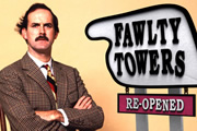 Fawlty Towers: Re-Opened. John Cleese. Copyright: Tiger Aspect Productions.