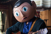 Frank. Frank Sidebottom (Michael Fassbender). Copyright: Film4.