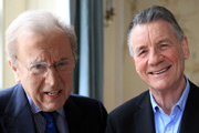 Frost On Sketch Shows. Image shows from L to R: David Frost, Michael Palin. Copyright: David Paradine Productions.