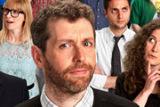 Genius With Dave Gorman. Dave Gorman. Image credit: British Broadcasting Corporation.