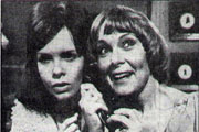 A Girl's Best Friend. Image shows from L to R: Lynn Dalton (Carolyn Courage), Audrey Dalton (Zena Walker). Copyright: BBC.