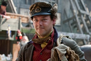 Terry Pratchett's Going Postal. Moist Von Lipwig (Richard Coyle). Image credit: The Mob Film Co.