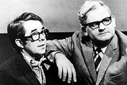 Goodnight From Him. Image shows from L to R: Ronnie Corbett, Ronnie Barker. Copyright: CPL Productions / BBC.