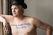 Greg Davies Live: Firing Cheeseballs At A Dog. Greg Davies. Copyright: Avalon Television.