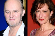 Image shows from L to R: Tim McInnerny, Haydn Gwynne.