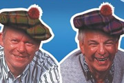 Hamish And Dougal: You'll Have Had Your Tea. Image shows from L to R: Dougal (Graeme Garden), Hamish (Barry Cryer). Copyright: BBC.