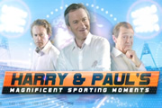 Harry & Paul's Magnificent Sporting Moments. Image shows from L to R: Harry Enfield, Harry Enfield, Paul Whitehouse. Copyright: Burning Bright Productions.