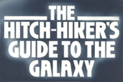 The Hitchhiker's Guide To The Galaxy. Image credit: British Broadcasting Corporation.