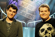 Horne & Corden. Image shows from L to R: Mathew Horne, James Corden. Image credit: Tiger Aspect Productions.